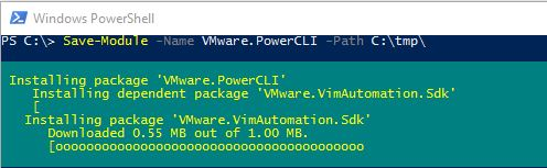 VMware PowerCLI Version 6 5 2+ Installation – Online/Offline